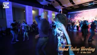 Karim & Vera - salsa dancing @ RABAT SALSA MEETING 2015