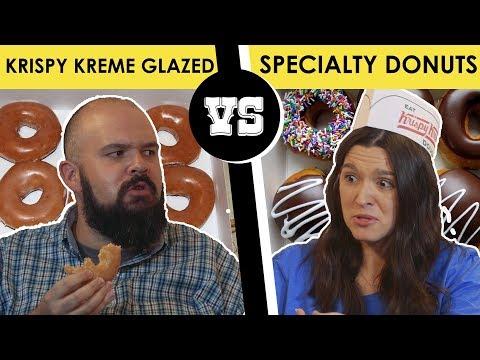 Krispy Kreme: Glazed Donut vs. Specialty Donut - Back Porch Bickerin'