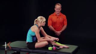 KT Tape - Kinesiology Taping Instructions for Shin Splints