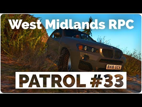 "West Midlands RPC - Patrol #33 - ""Strike Strike Strike""."