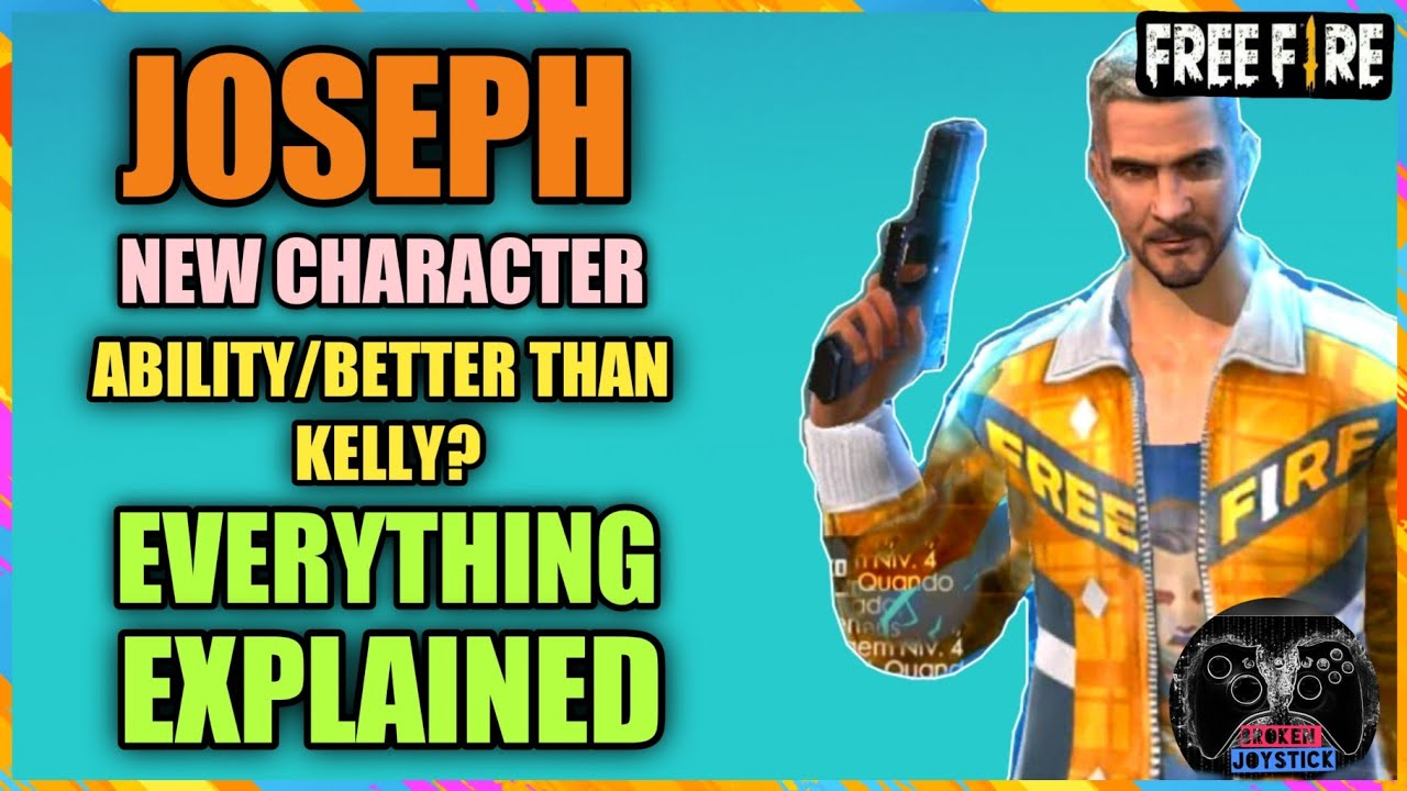 New Character Joseph Free Fire Ability Review Everything Explained