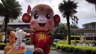 Chinese New Year 2016 (Year of Fire Monkey) - Chinese Zodiac Animals Lanterns (Day View) @ AMK Hub