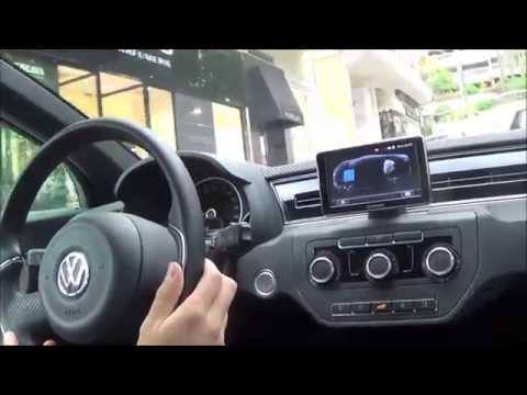 Volkswagen XL1 TEST DRIVE IN MONACO - Diesel Hybrid technology