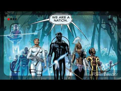Black Panther Deception, short video comic on the Afro American origin paradox