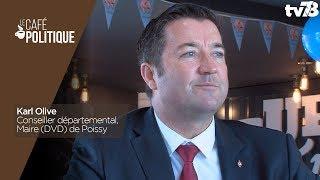Café Politique n°66 – Karl Olive, Conseiller départemental, Maire (DVD) de Poissy