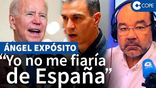 """Expósito: """"EEUU cita a 30 países y España no está: ¿Tú te fiarías de los herederos de Maduro?"""""""
