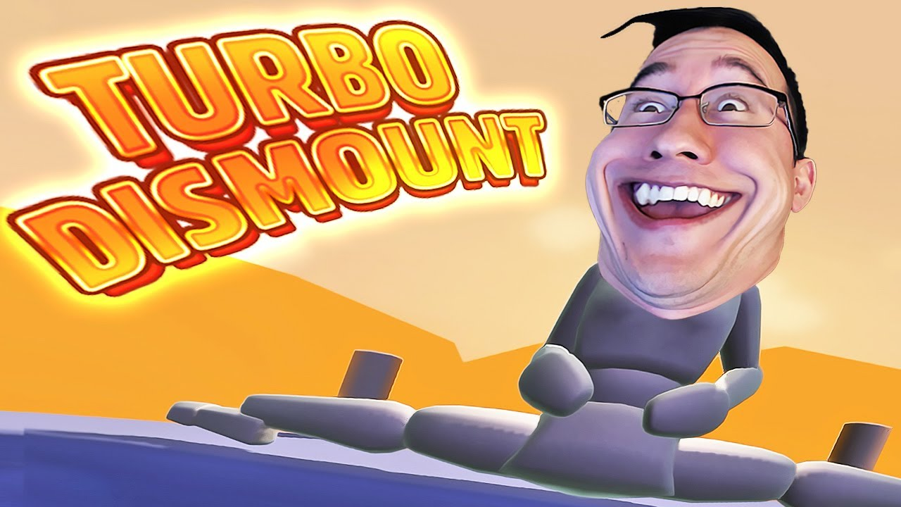 Turbo Dismount #7 | FUNNIEST FACE EVER - YouTube