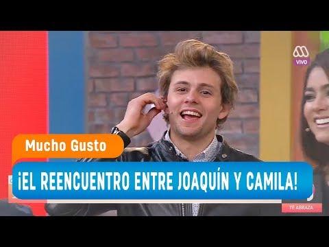 ¡El reencuentro entre Joaquín y Camila! / Mucho Gusto 2018