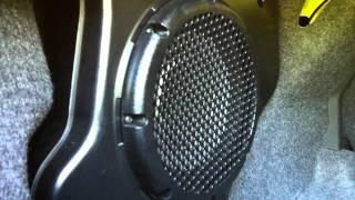 Stock 2009 Cobalt SS Sound System