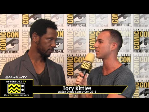 Tory Kittles (Colony) at San Diego Comic-Con 2016