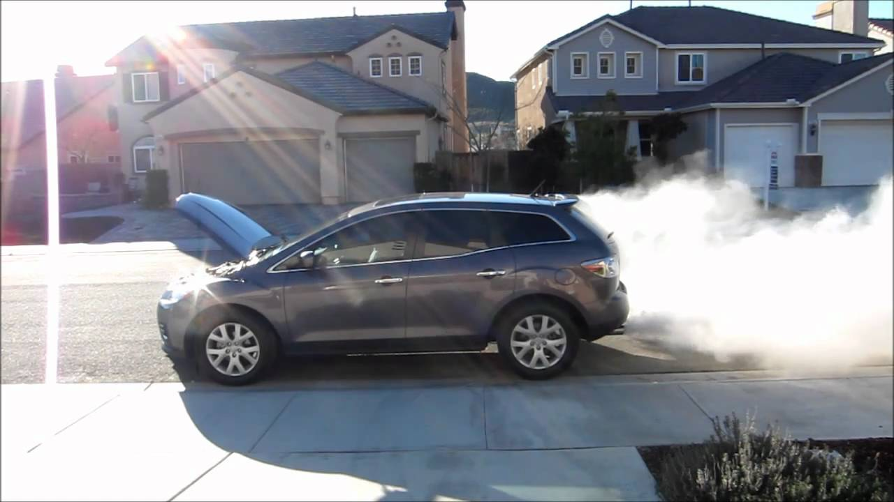 mazda cx7 seafoam - youtube