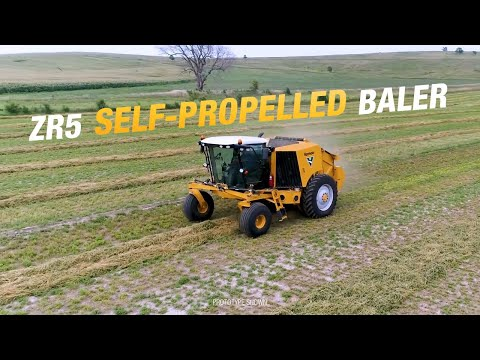 Introducing the ZR5 Self-Propelled Baler | Vermeer Agriculture Equipment