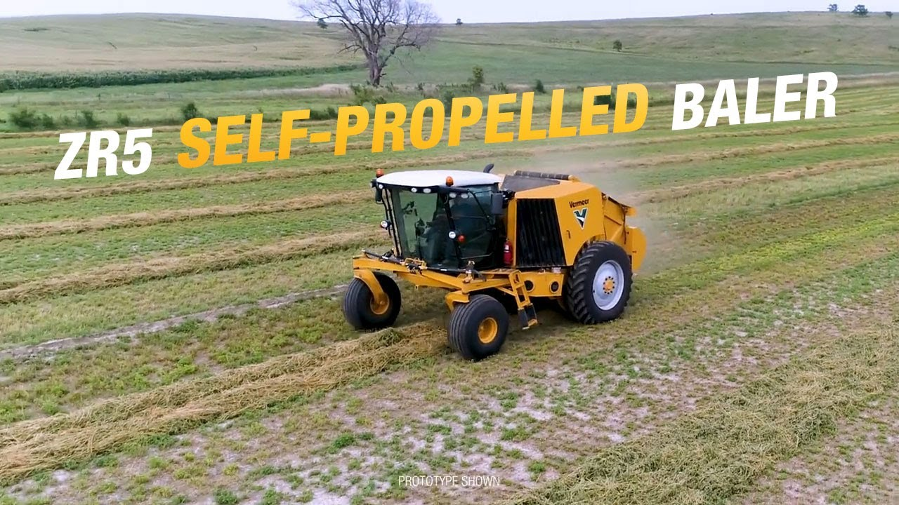 introducing the zr5 self propelled baler vermeer agriculture