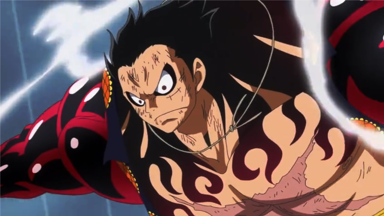 luffy gear 4 flying one piece episode 726 youtube
