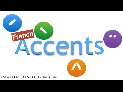french accents aigu, grave, circonflexe