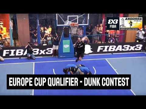 FIBA 3x3 Europe Cup Qualifier - Dunk Contest - Re-Live - Escaldes-Engordany, Andorra