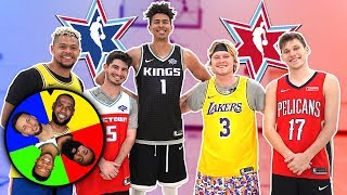 Download SPIN THE WHEEL OF ALL-STAR SIGNATURE MOVES KING OF THE COURT! Mp3 and Videos