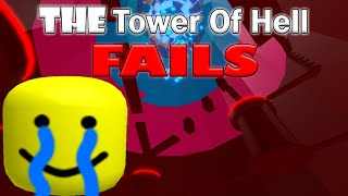 THE Tower of Hell DEATH COMPILATION - Roblox
