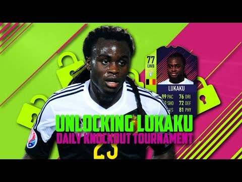 UNLOCKING PATH TO GLORY JORDAN LUKAKU - PATH TO GLORY JORDAN LUKAKU - FIFA 18 ULTIMATE TEAM