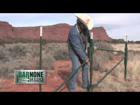 Barnone Fence Brace Wmv Youtube