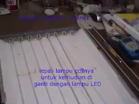 cara mengganti backlight ccfl menjadi LED thumbnail