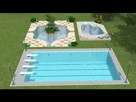 planos para construir una piscina youtube