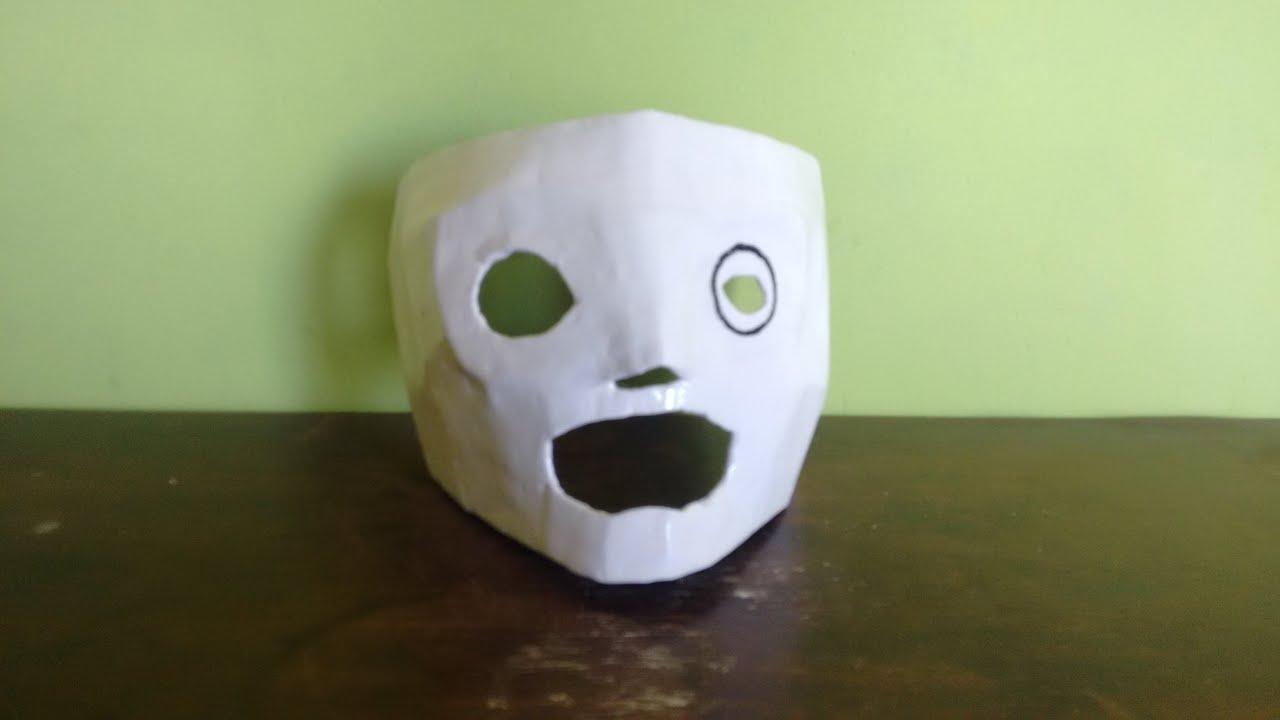 673005f23 como fazer mascara corey taylor (slipknot) parte 1 - YouTube