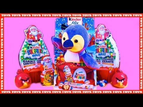 1 Kinder Mix Penguin Plush Toy Kinder Surprise Mini Eggs