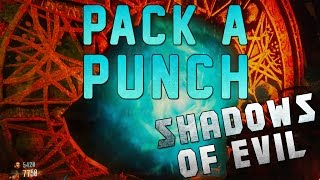 How To Pack A Punch - Shadows Of Evil Zombies (Open Up Pack A Punch Black Ops 3)