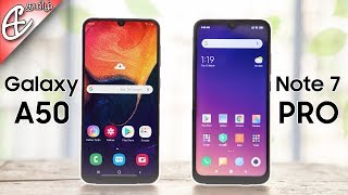 Exynos 9610 -ஐ விட Snapdragon 675 வேகமானதா  - Redmi Note 7 Pro vs Galaxy A50 Speedtest Comparision!