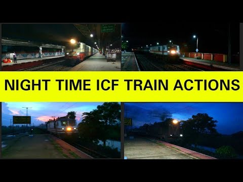 Night Railfanning High Speed Diesel and...