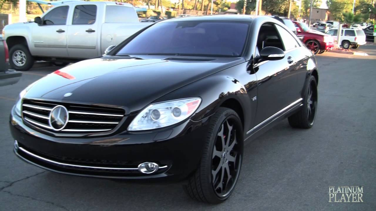 Mercedes benz cl 600 on 24 inch forgiatos sin city series for 24 inch mercedes benz rims