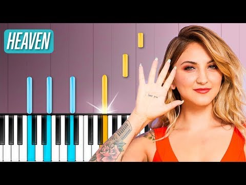 "Julia Michaels - ""Heaven"" Piano Tutorial - Chords - How To Play - Cover"