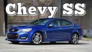 2017 Chevrolet SS 6MT: Regular Car Reviews