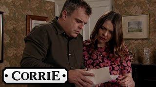 Coronation Street - Tracy and Steve Immediately Regret Signing Amy's Contract