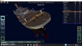 ROBLOX TITANIC (DAS ENDE DES BOAT)