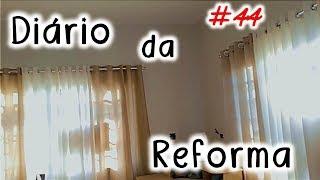 """Baixar DIÁRIO DA REFORMA #44 🏠 """"Colocando algumas cortinas"""" ★ (Casa dos Pais)"""