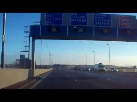 aston expressway through Spaghetti to the M6