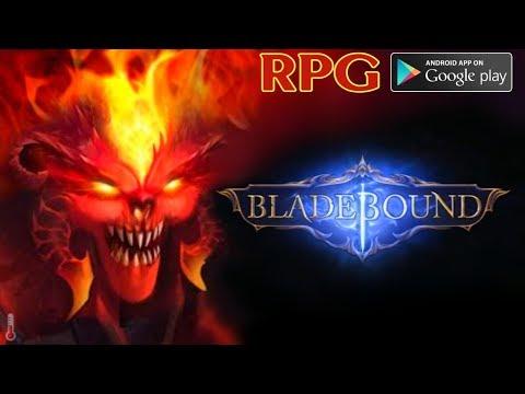 BladeBound - Blade II на минималках и на русском | Legendary Action RPG [ПЕРВЫЙ ВЗГЛЯД] Android
