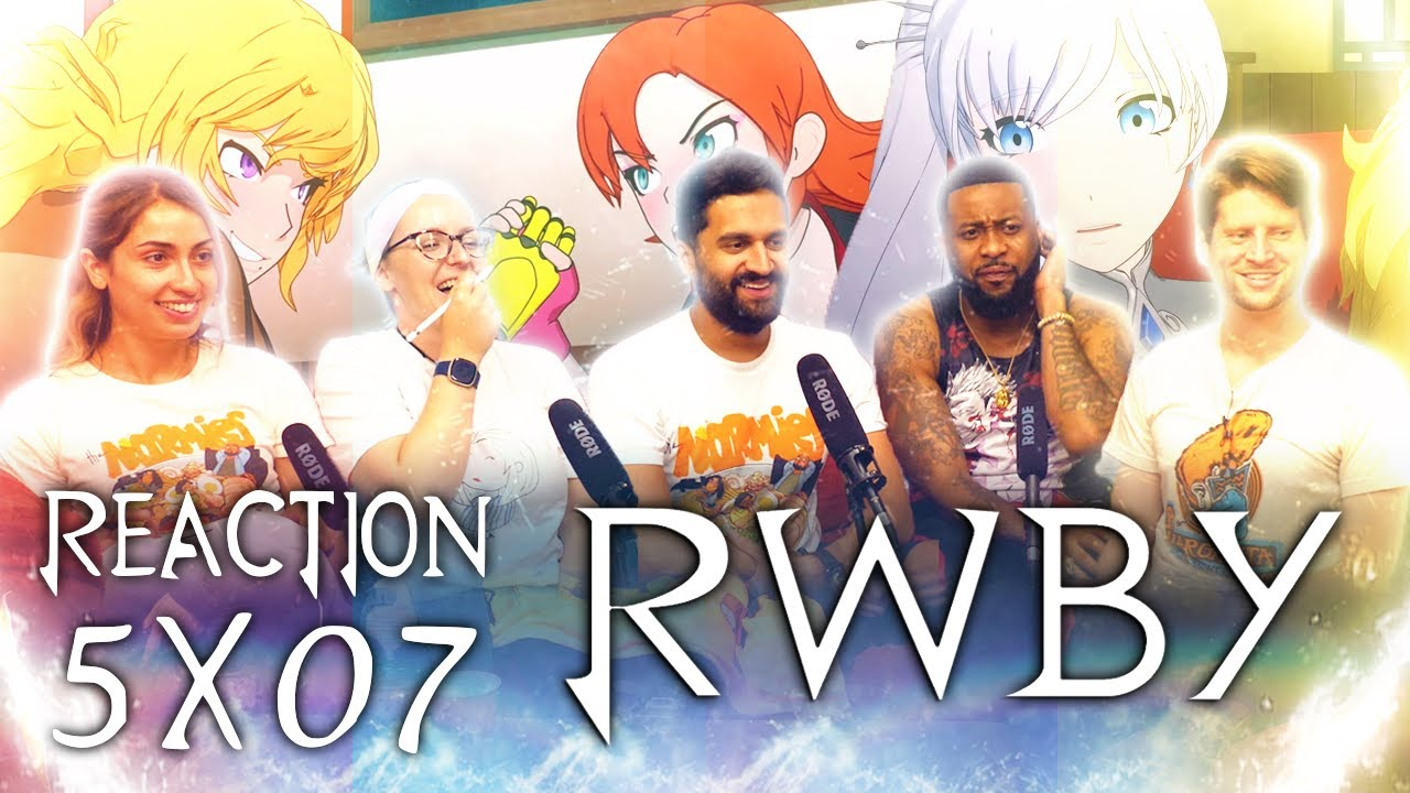 Download RWBY - 5x7 Rest and Resolutions - Group Reaction