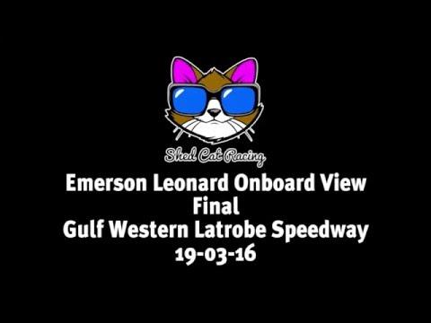 Shed Cat - Final - Latrobe Speedway - 19-03-16