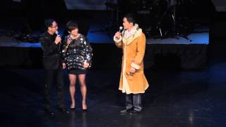 蒋志光、黄光亮、李麗霞合唱《友誼之光》