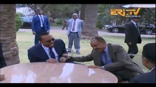ERi-TV, Eritrea: Massive Turnout in Asmara to Welcome Ethiopian Leader