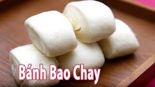 Cách Làm Bánh Bao Sữa - Bánh Bao Chay Còn gì thích hơn khi tự tay l...