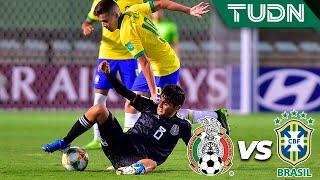 ¡Extraordinaria barrida! | México 1 - 0 Brasil  | Mundial Sub-17 - Brasil 2019  - Final | TUDN