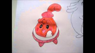 How To Draw Pokemon #113 Chansey, #242 Blissey, #440 Happiny