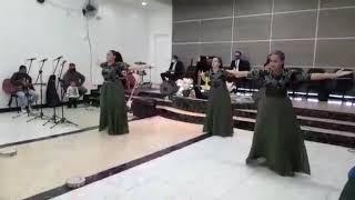 Filhas de Deus Dança Profética  ( Cadê  os pentecostais Rejane )