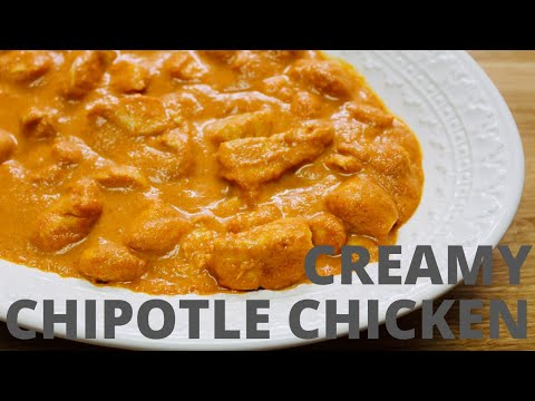RECIPE: Creamy Chipotle Chicken | COOKINGWITHELVEE