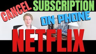 How To Cancel Subscription On Netflix App 2019