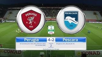 PERUGIA – PESCARA 4-2, gli highlights